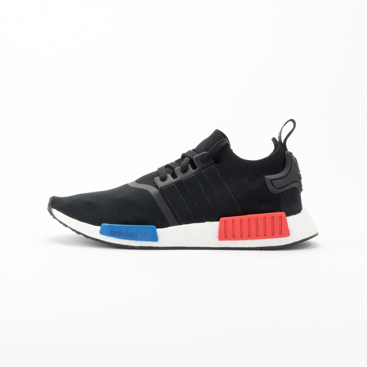 Adidas NMD Runner PK Primeknit Black / Red / Blue / White S79168-45.33