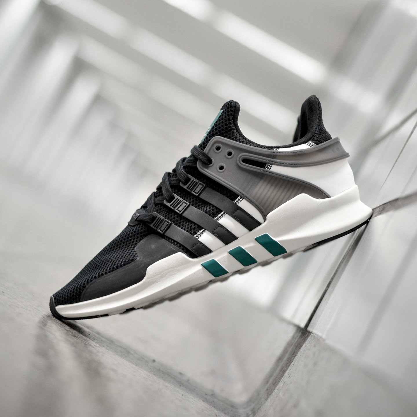 Adidas EQT Support ADV 'Reflective Pack' Core Black / Sub Green BA8321-45.33
