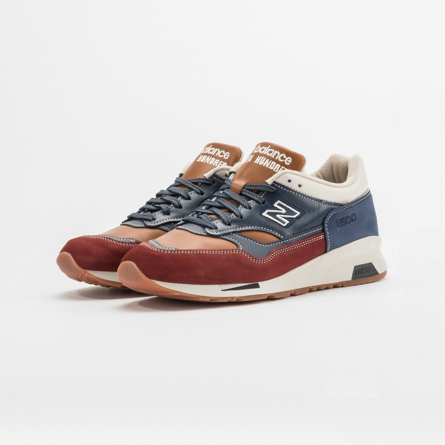 New Balance M1500 MGC - Made in England Navy / Bordeaux / Brown M1500MGC