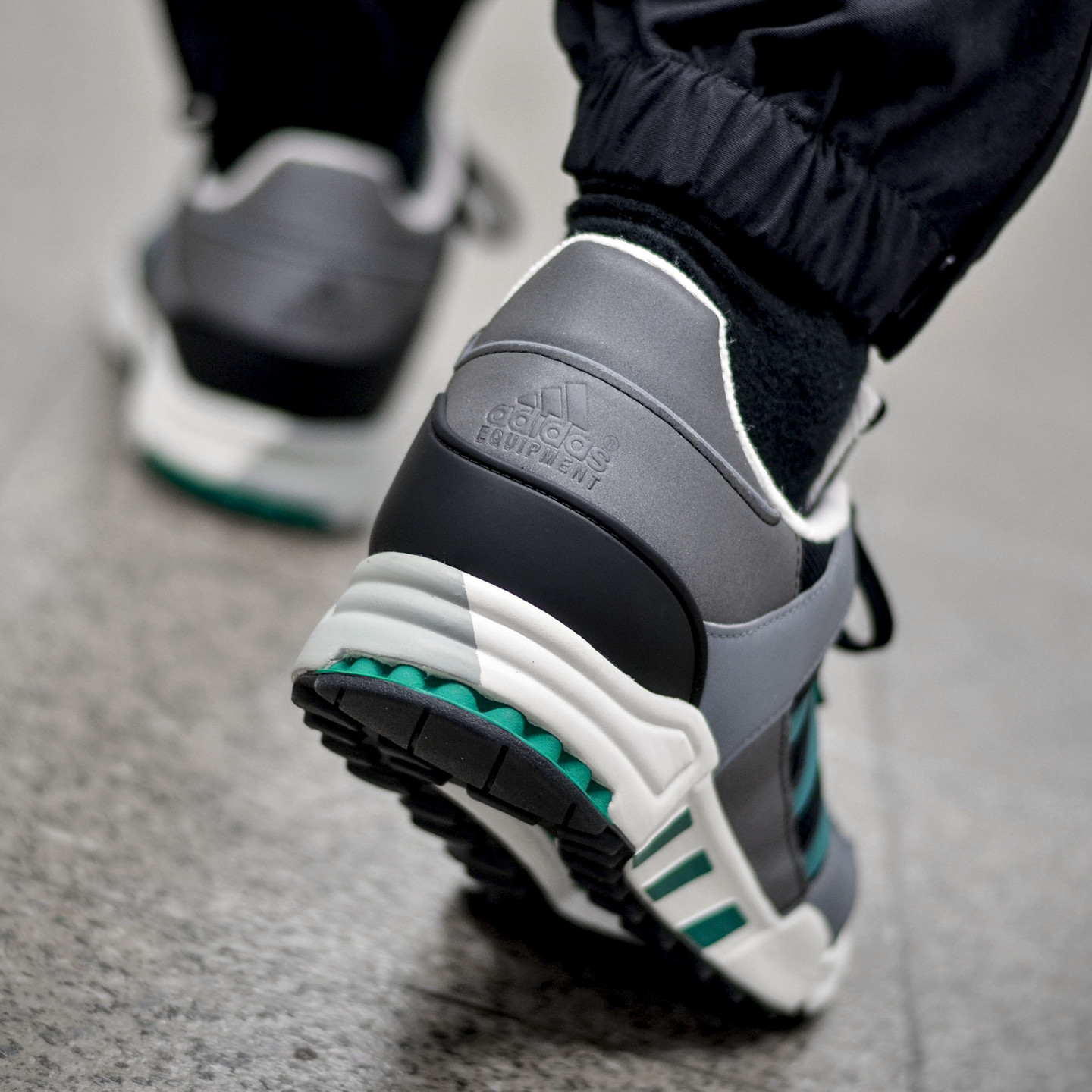 Adidas EQT Running Support 'Reflective Pack' Core Black / Sub Green / Chalk White S32144