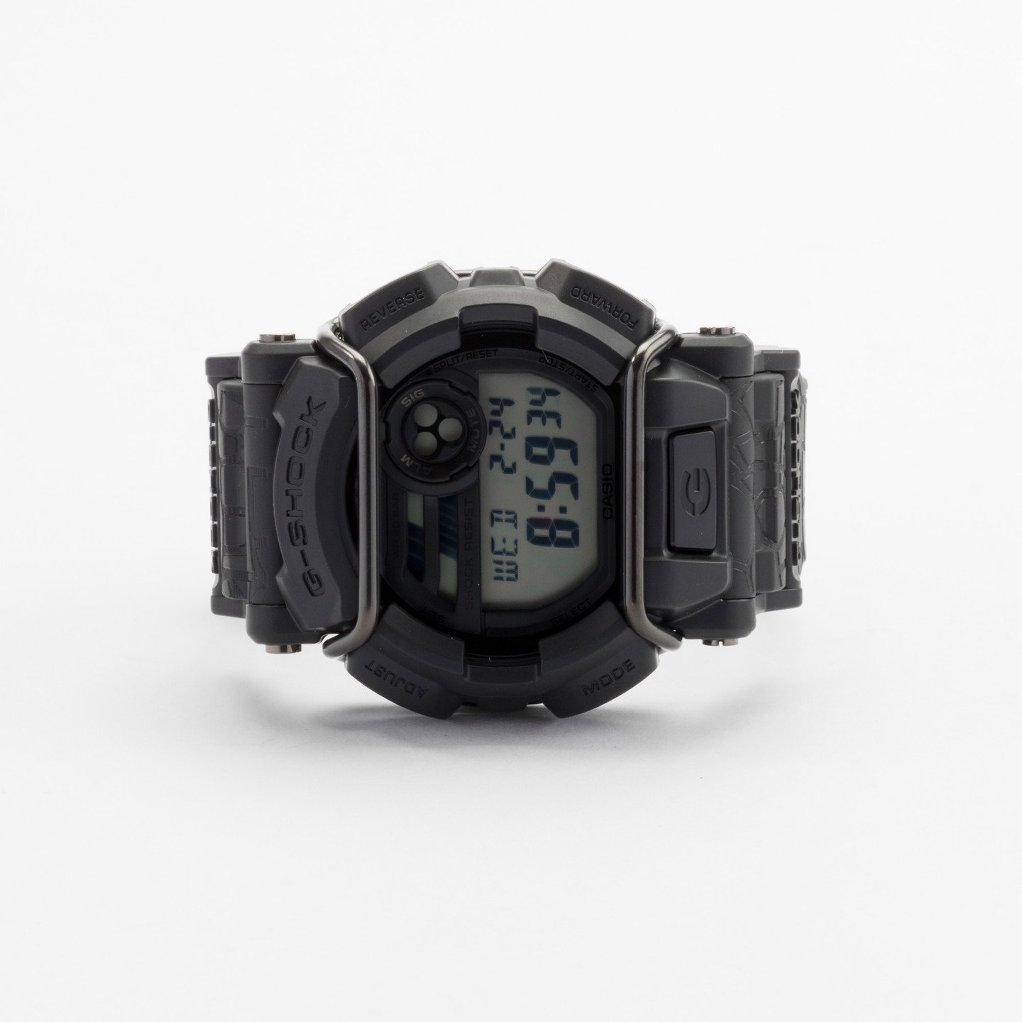 Casio G-Shock x Huf Gd-400Huf-1Er Quake Black/Black/Black GD400HUF1ER-one-size