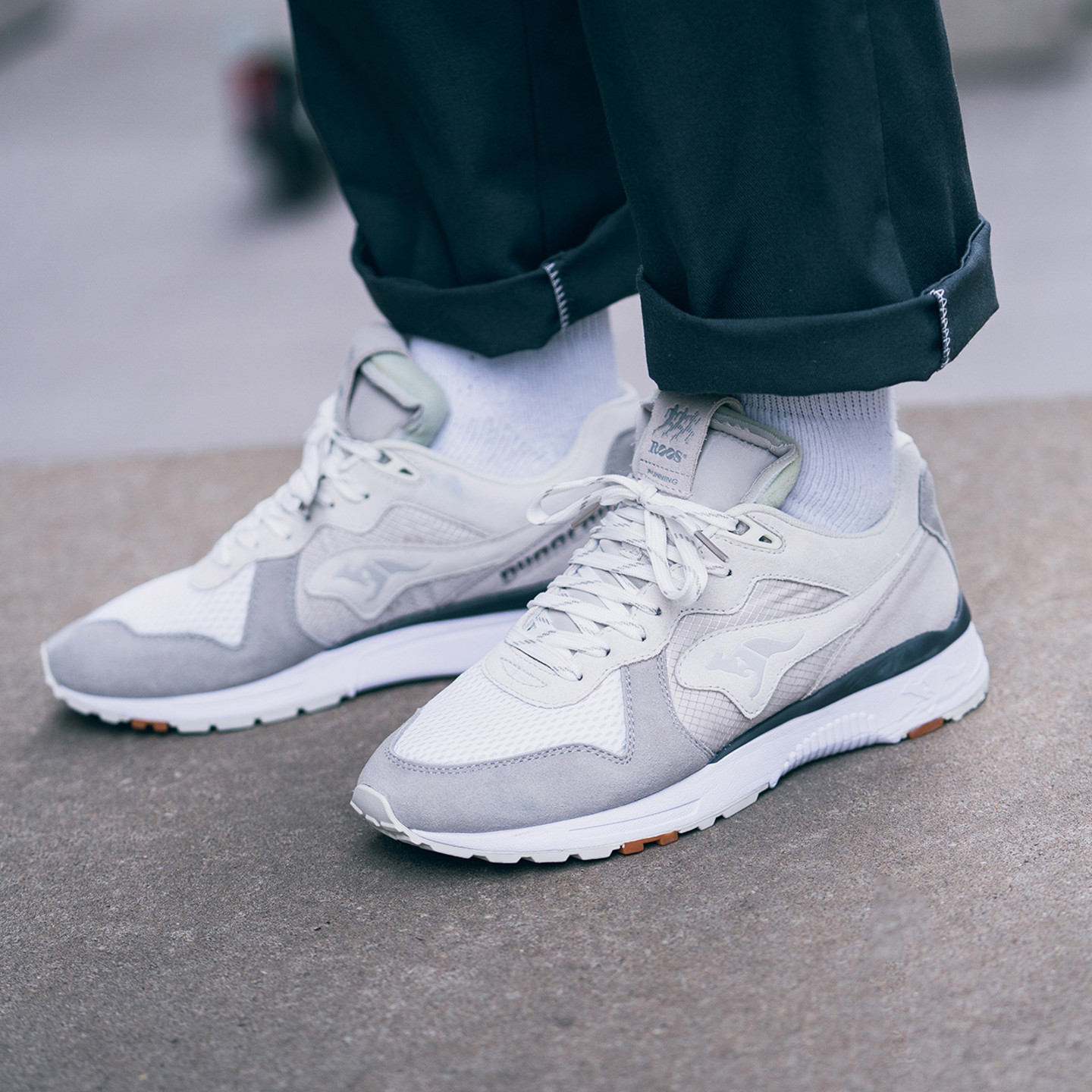 KangaROOS Finalist Future Brightside Off White / Light Grey / Pure White 47257-0035