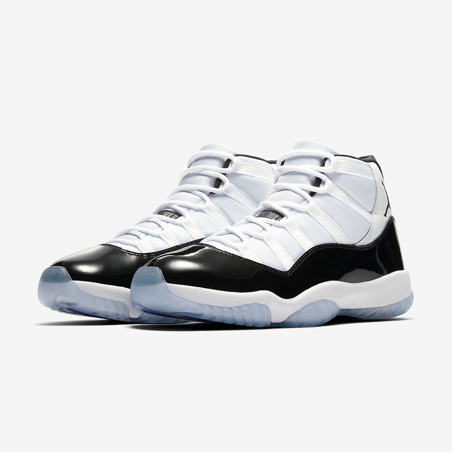 Nike Air Jordan 11 Retro GS 'Concord' White / Black / Dark Concord 378038-100