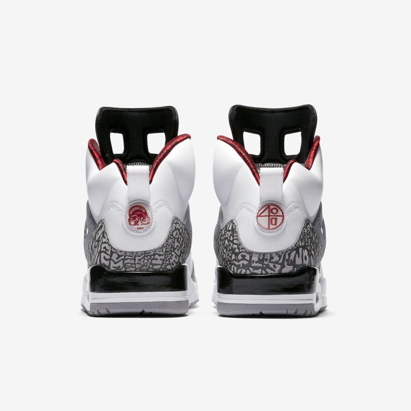 Jordan Air Jordan Spizike White / Varsity Red / Cement Grey / Black 315371-122