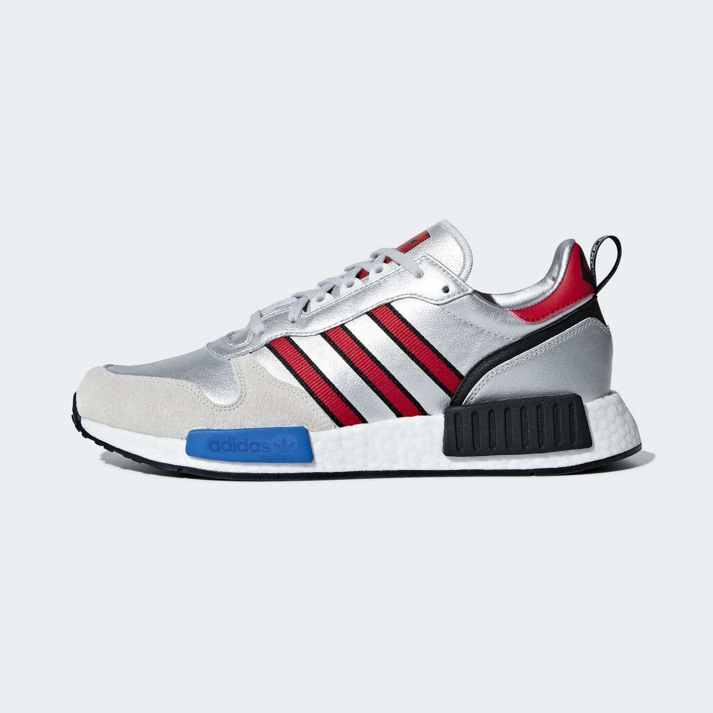 Adidas Rising Star x R1 'Never Made' Silver Metallic / Collegiate Red / Ftwr White G26777