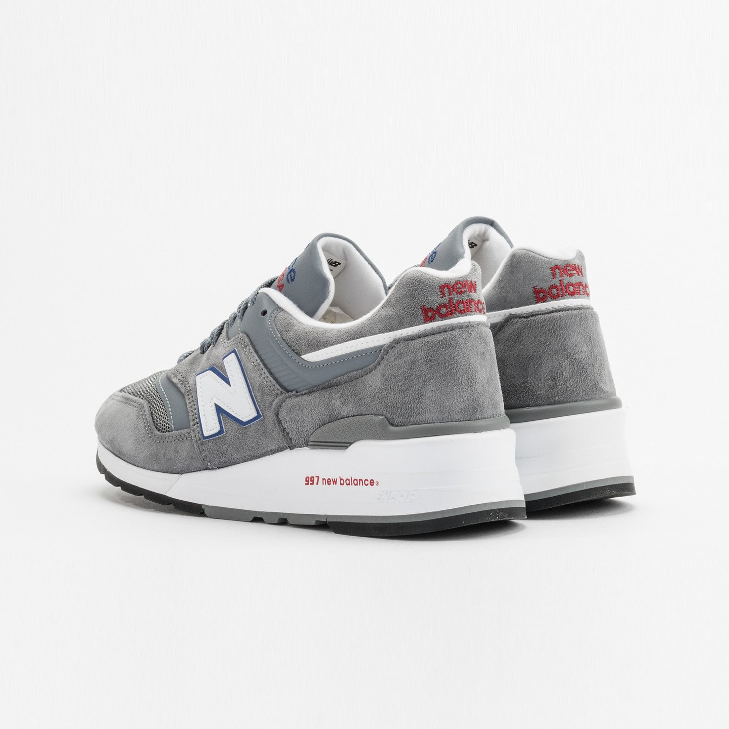 New Balance M997 Made in USA Grey / Blue / Red M997CNR-45