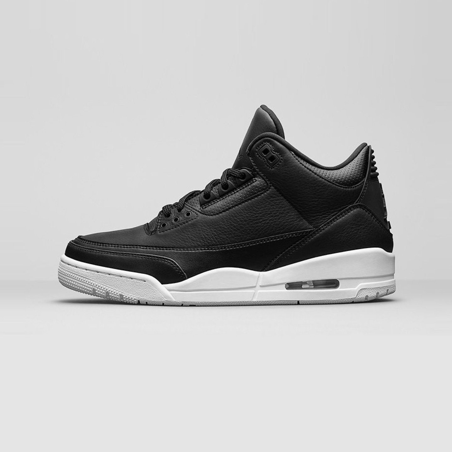 Jordan Air Jordan 3 Retro BG 'Cyber Monday' Black / White 398614-020-36.5