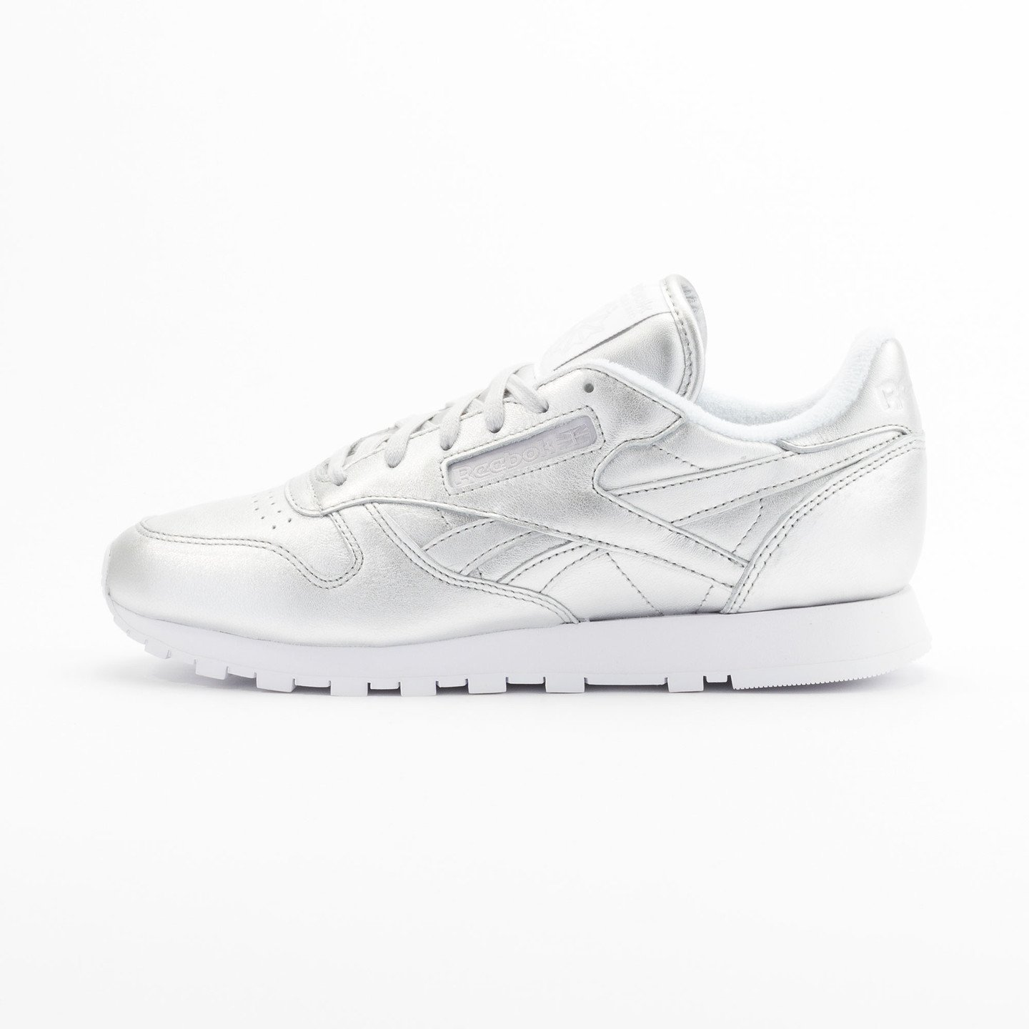 Reebok Classic Leather Spirit Presence Silver / White V62700-40