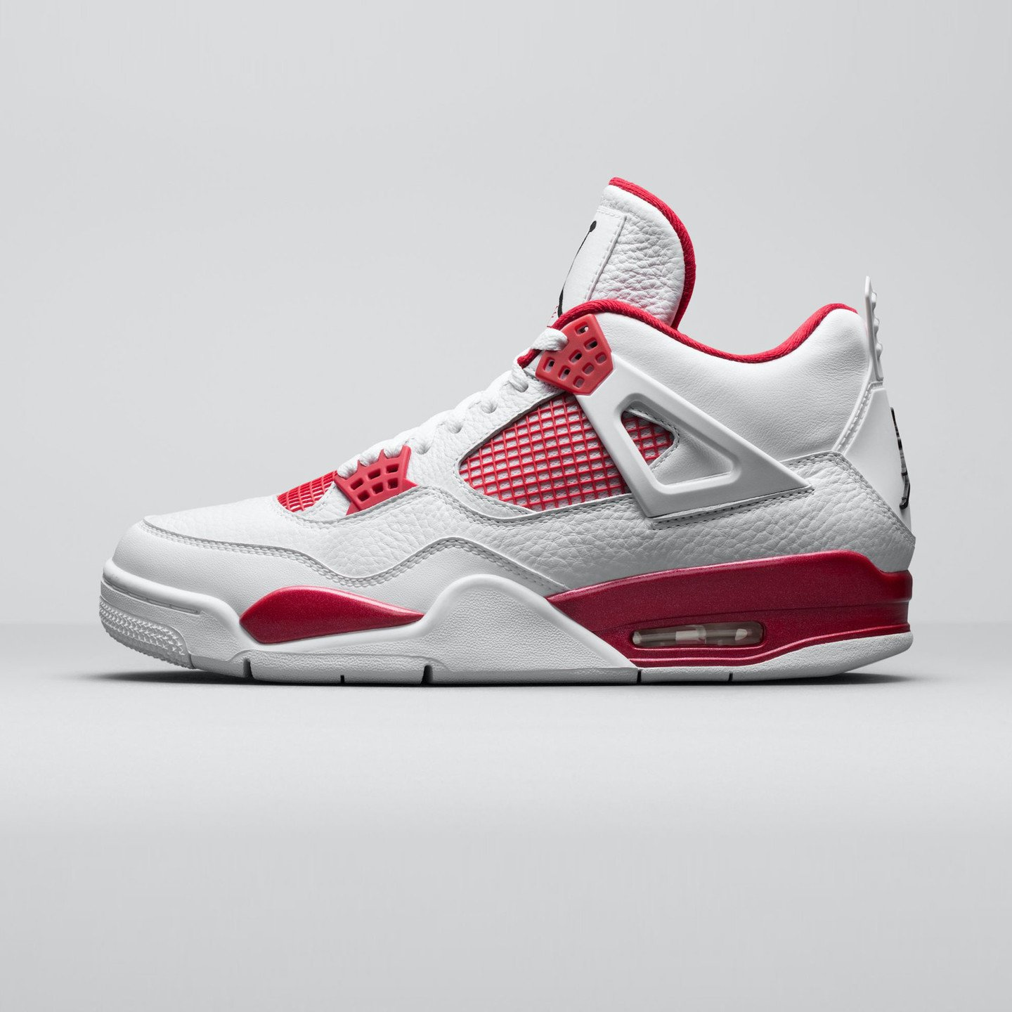 Jordan Air Jordan 4 Retro Alternate White / Gym Red / Black 308497-106-43