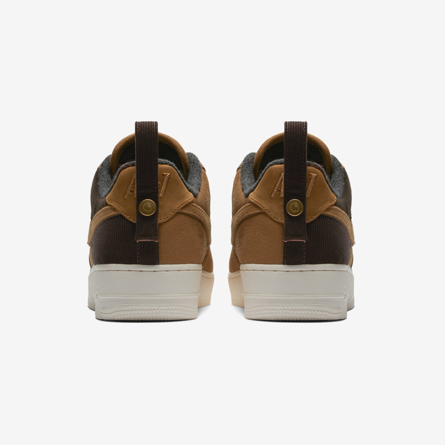 Nike Air Force 1 07 Premium x Carhartt WIP Ale Brown / Sail AV4113-200