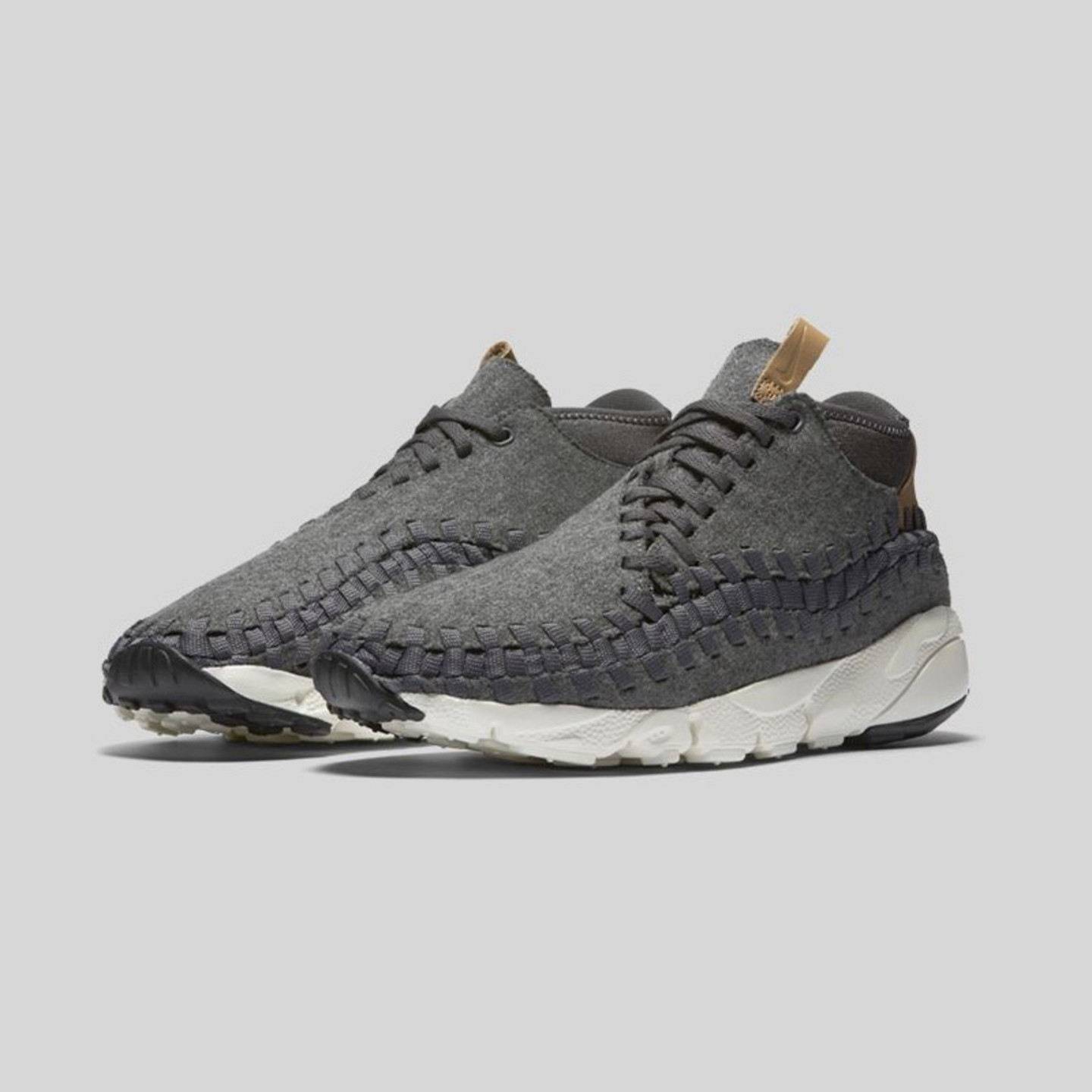 Nike Air Footscape Woven Chukka Dark Grey / Sail / Vachetta Tan 857874-002-45