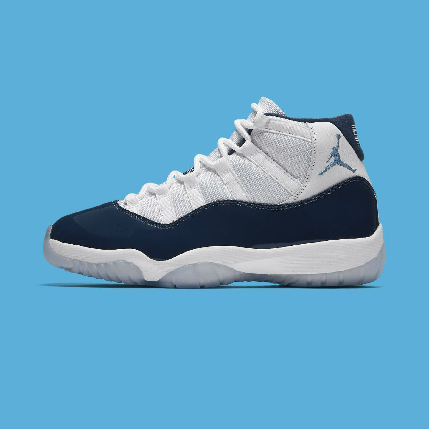 Jordan Air Jordan 11 Retro 'Win Like ´82' White / Midnight Navy / University Blue 378037-123