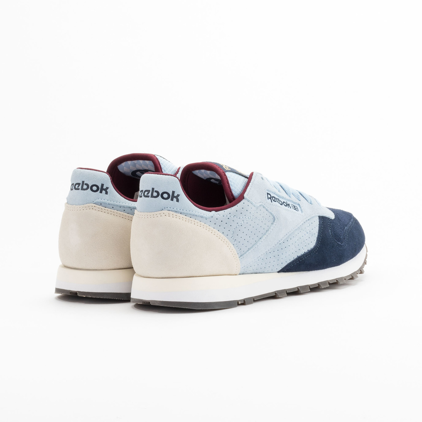 Reebok Classic Leather Int Navy / Light Blue / Sand V66829-45.5