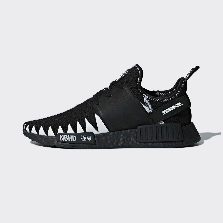 bf4f17252661b Adidas Neighborhood NMD R1 PK Core Black   Ftwr White DA8835-44