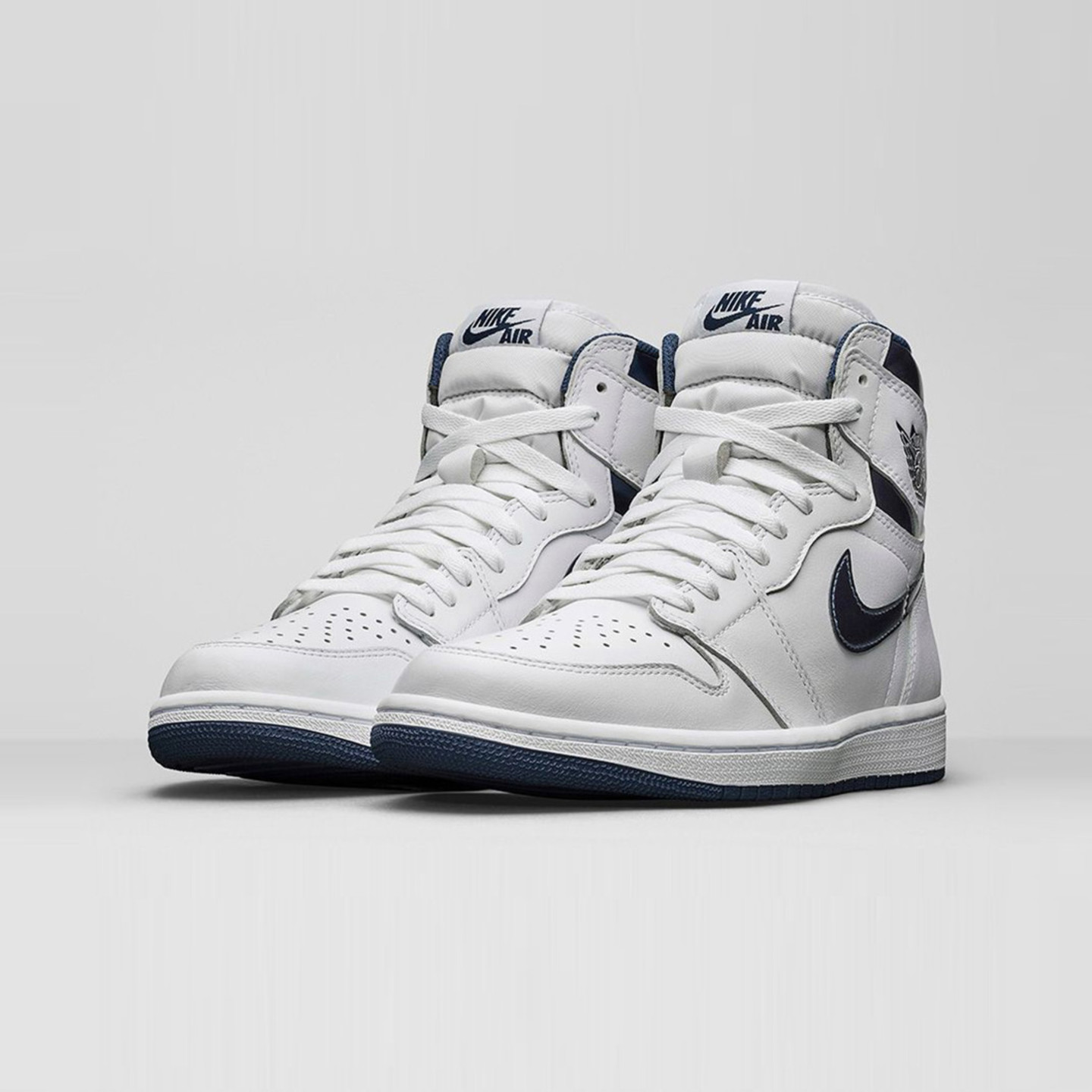 half off 4265f 64f6b Jordan Air Jordan 1 Retro High OG  Metallic Navy  White   Midnight Navy  555088