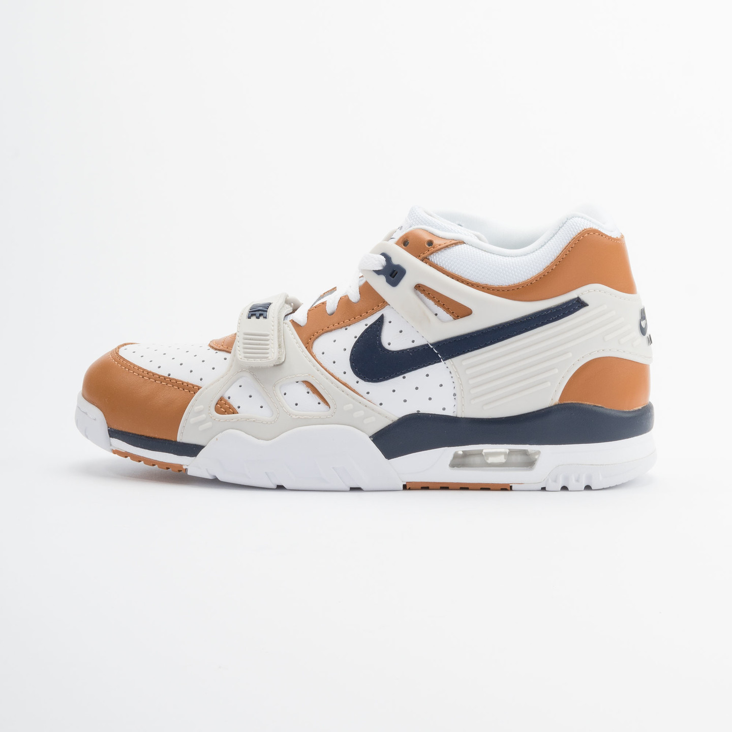 Nike Air Trainer 3 Premium Medicine Ball White/Mid Navy-Gngr-Lght Bn 705425-100-45