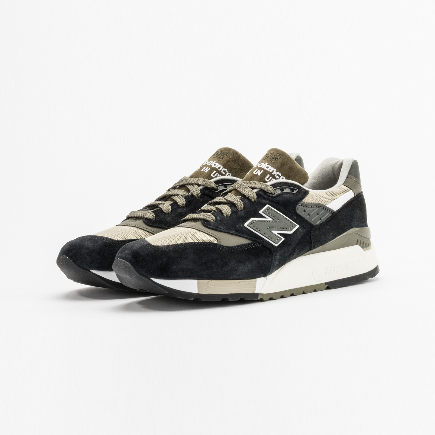 New Balance M998 Made in USA Olive / Black M998CTR-45.5