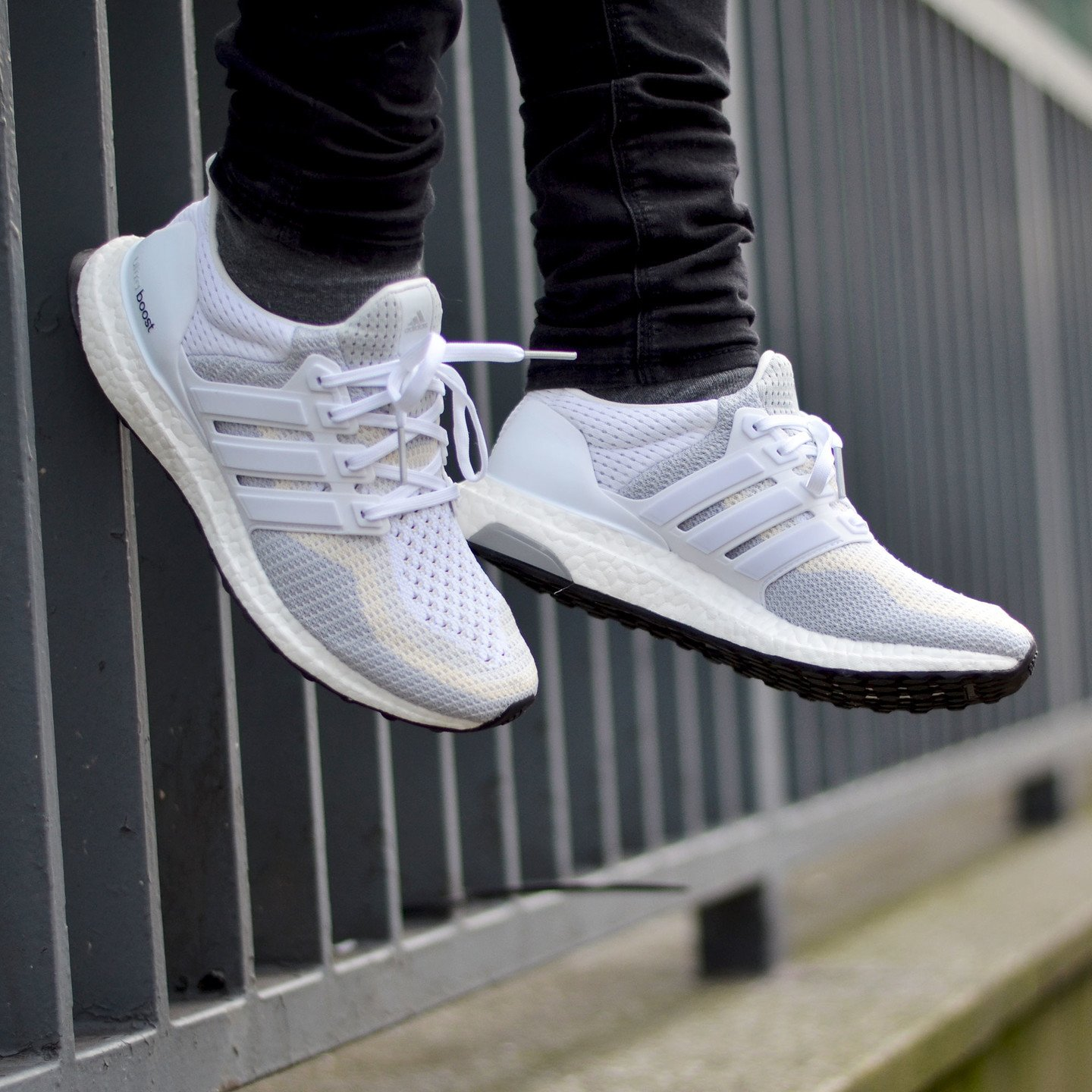 Adidas Ultra Boost W Running White / Clear Grey AF5142-44.66