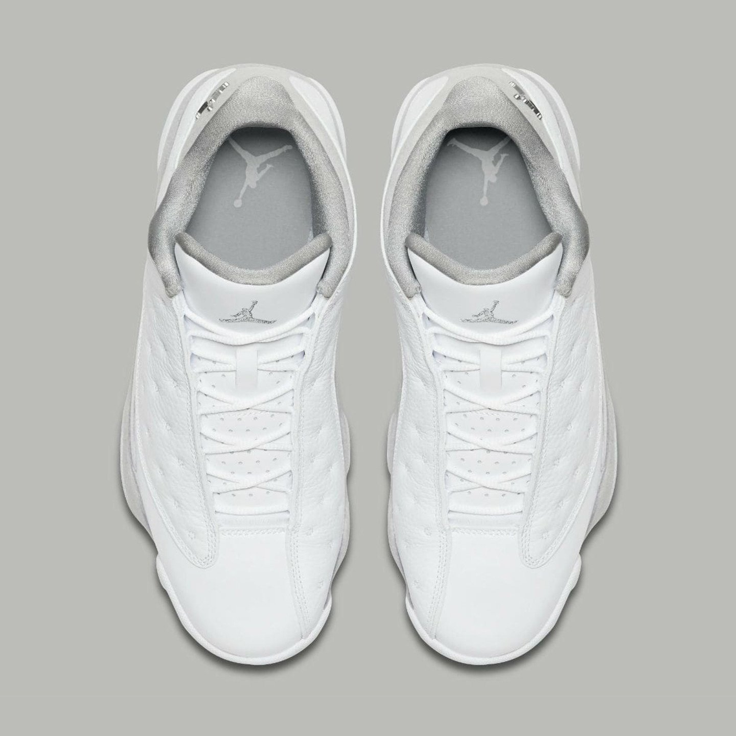 Jordan Air Jordan 13 Retro Low 'Pure Money' White / Metallic Silver 310810-100-47.5