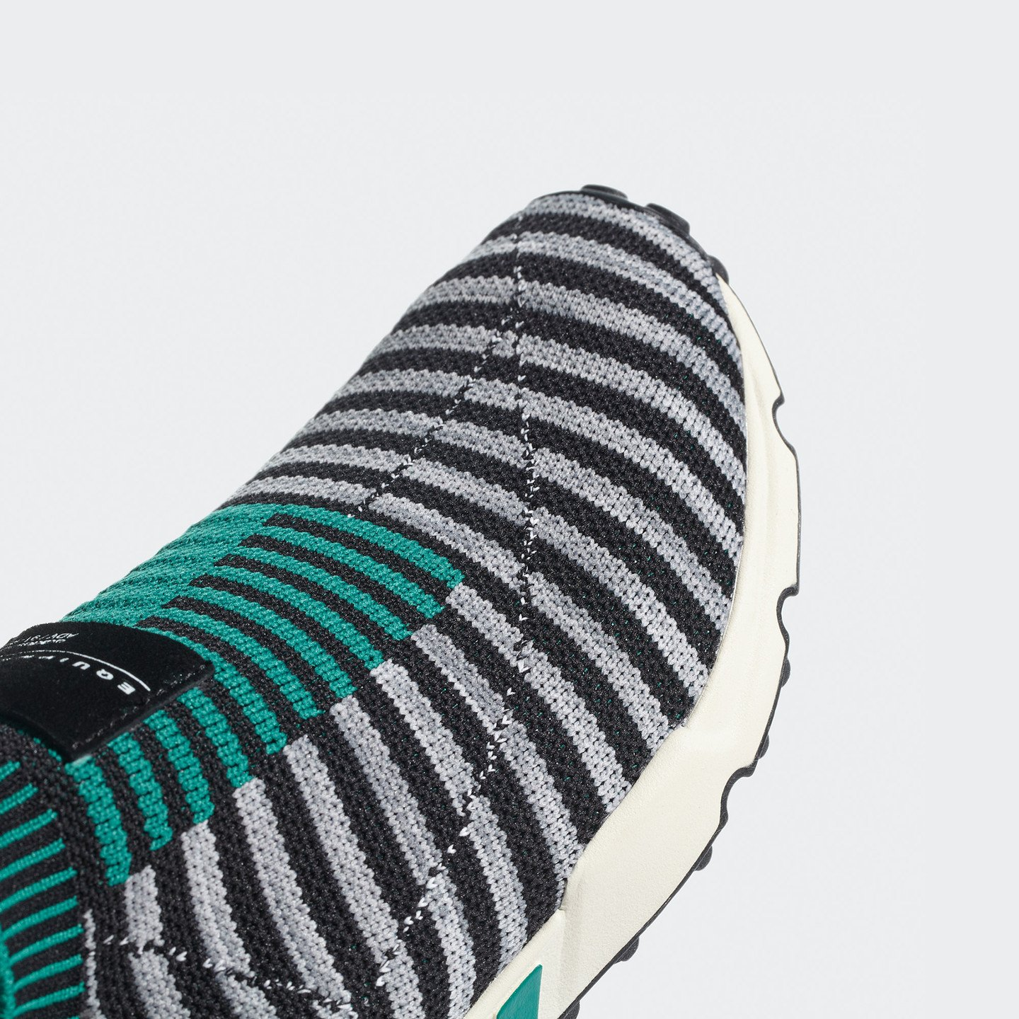 Adidas EQT Support Sk Primeknit Core Black / Grey One / Sub Green B37522