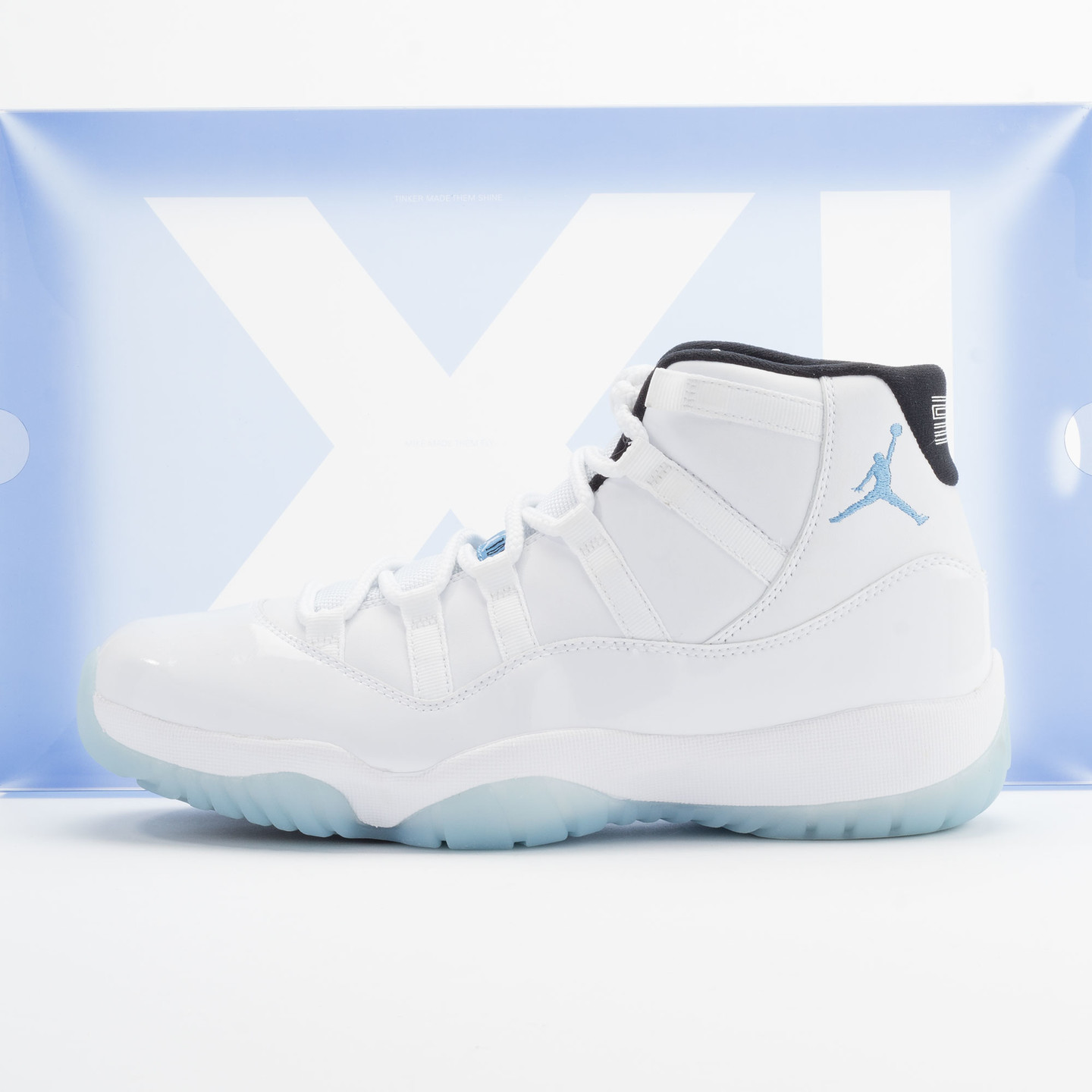 Jordan Air Jordan 11 Retro White/Legend Blue-Black 378037-117-44.5