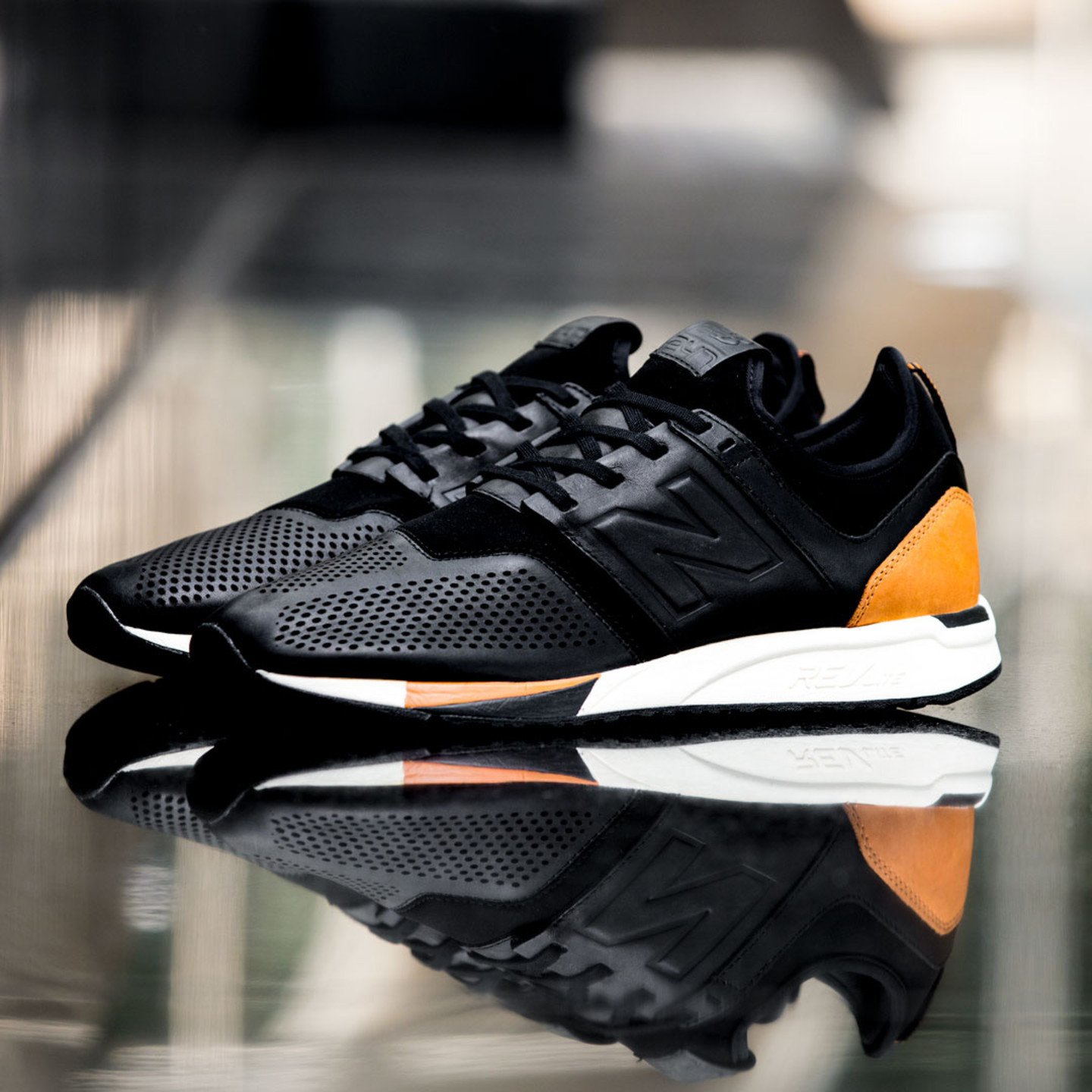 New Balance MRL 247 'Luxe Pack' Black / Brown / Cream MRL247BL-42.5
