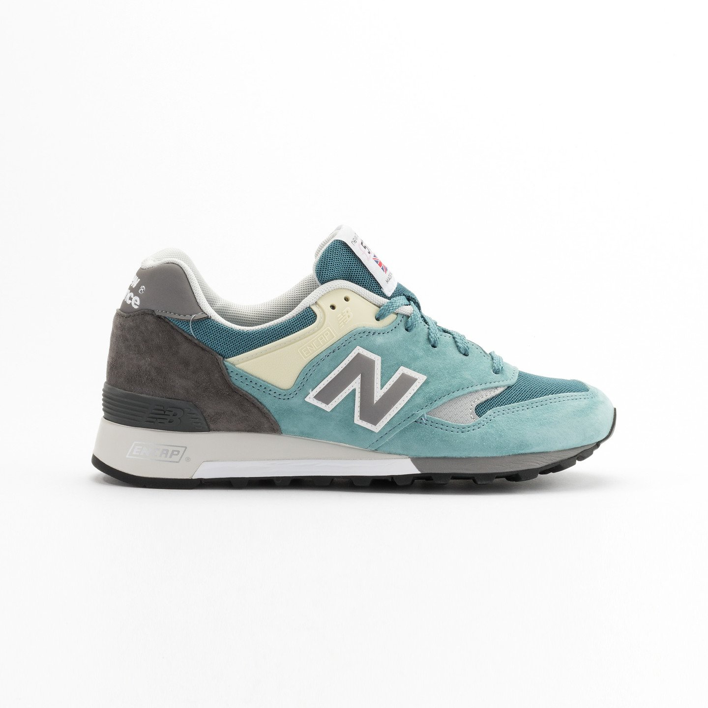 New Balance M577 ETB - Made in England Sea Glass / Grey/ Yellow M577ETB-42