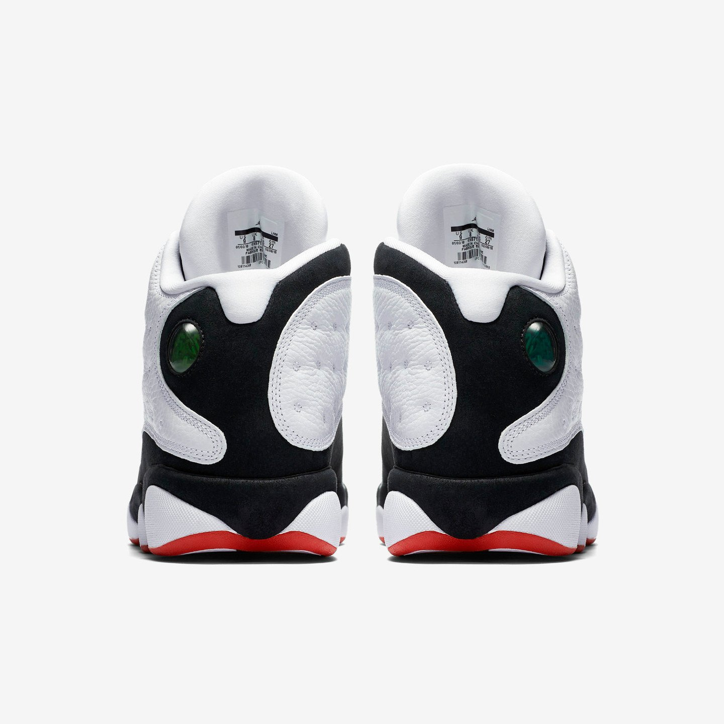 Jordan Air Jordan 13 'He Got Game' White / Black / True Red 414571-104