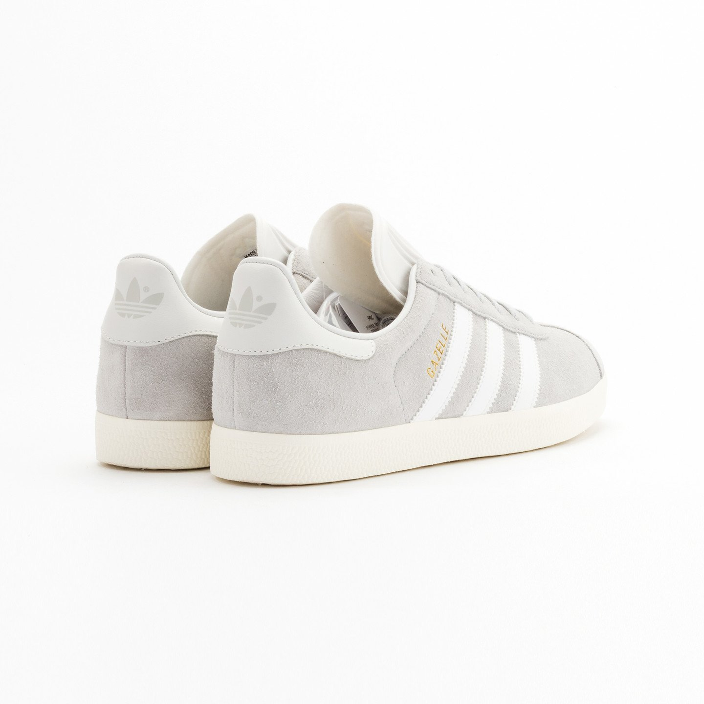 Adidas Gazelle  Clear Onyx / White / Gold Metallic S76221-44.66