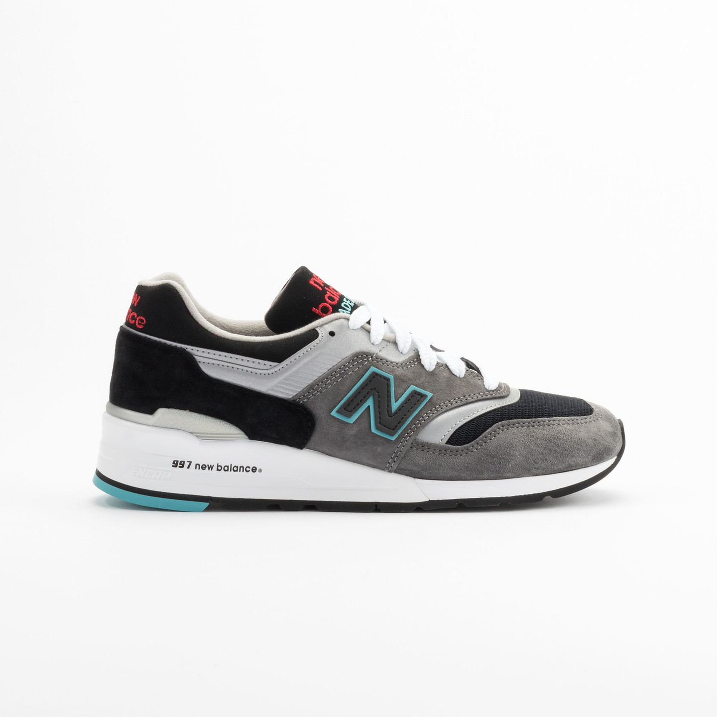 New Balance M997 Made in USA Grey / Black / Mint M997CGB-44.5