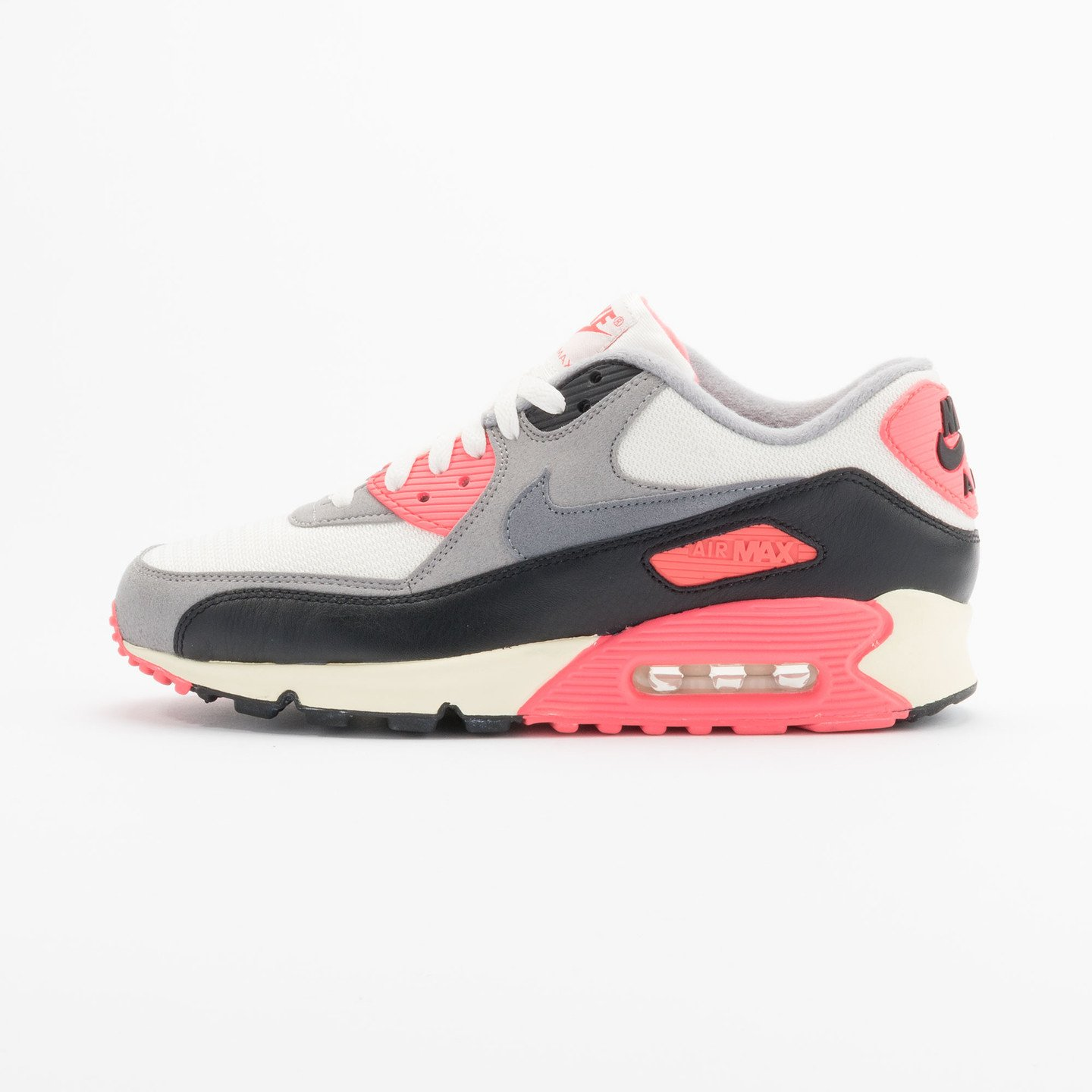 Nike Air Max 90 OG Vintage Infrared Sail/Cool Grey-Mdm Grey-Infrrd 543361-161-45