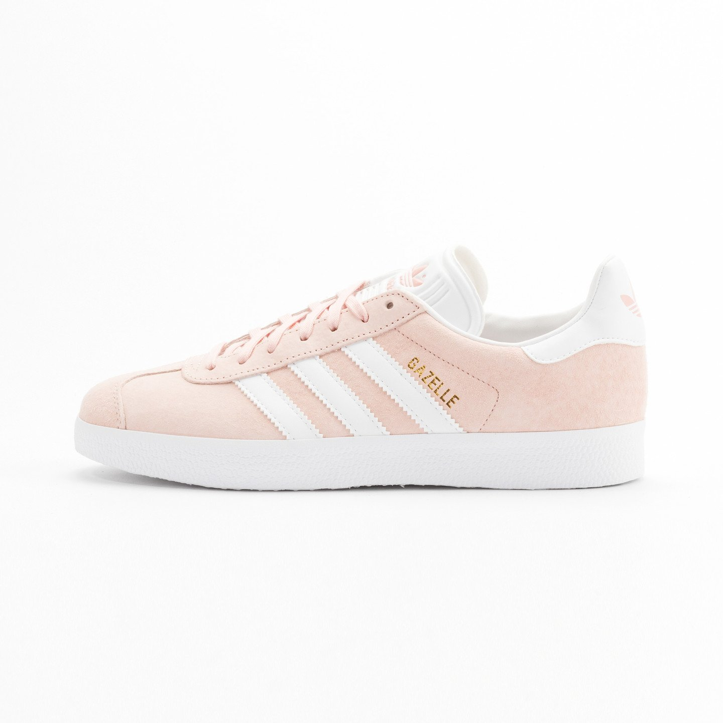 Adidas Gazelle  Vapor Pink / White / Gold Metallic BB5472-39.33