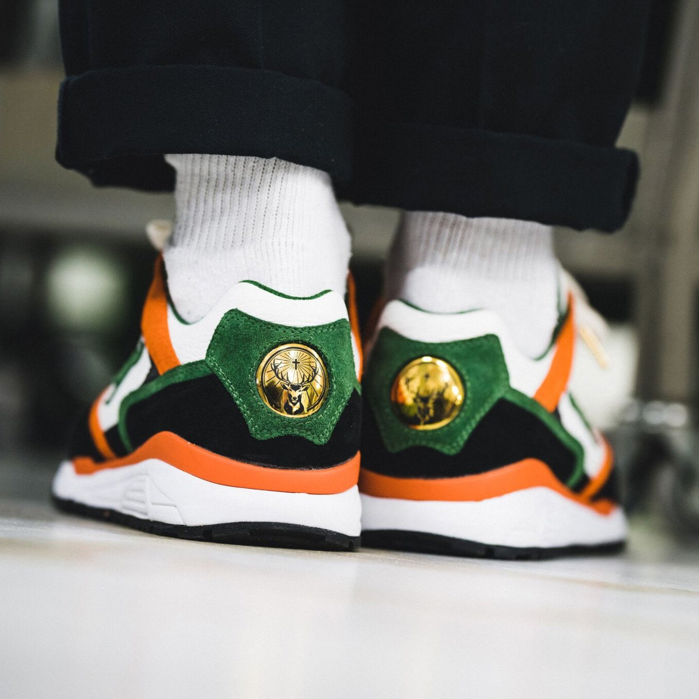 KangaROOS Ultimate x Jägermeister Black / White / Orange / Green 4702J-8000