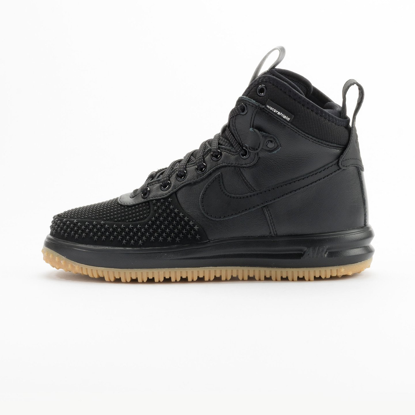 Nike Lunar Force 1 Duckboot Black / Black / Gum 805899-003-46