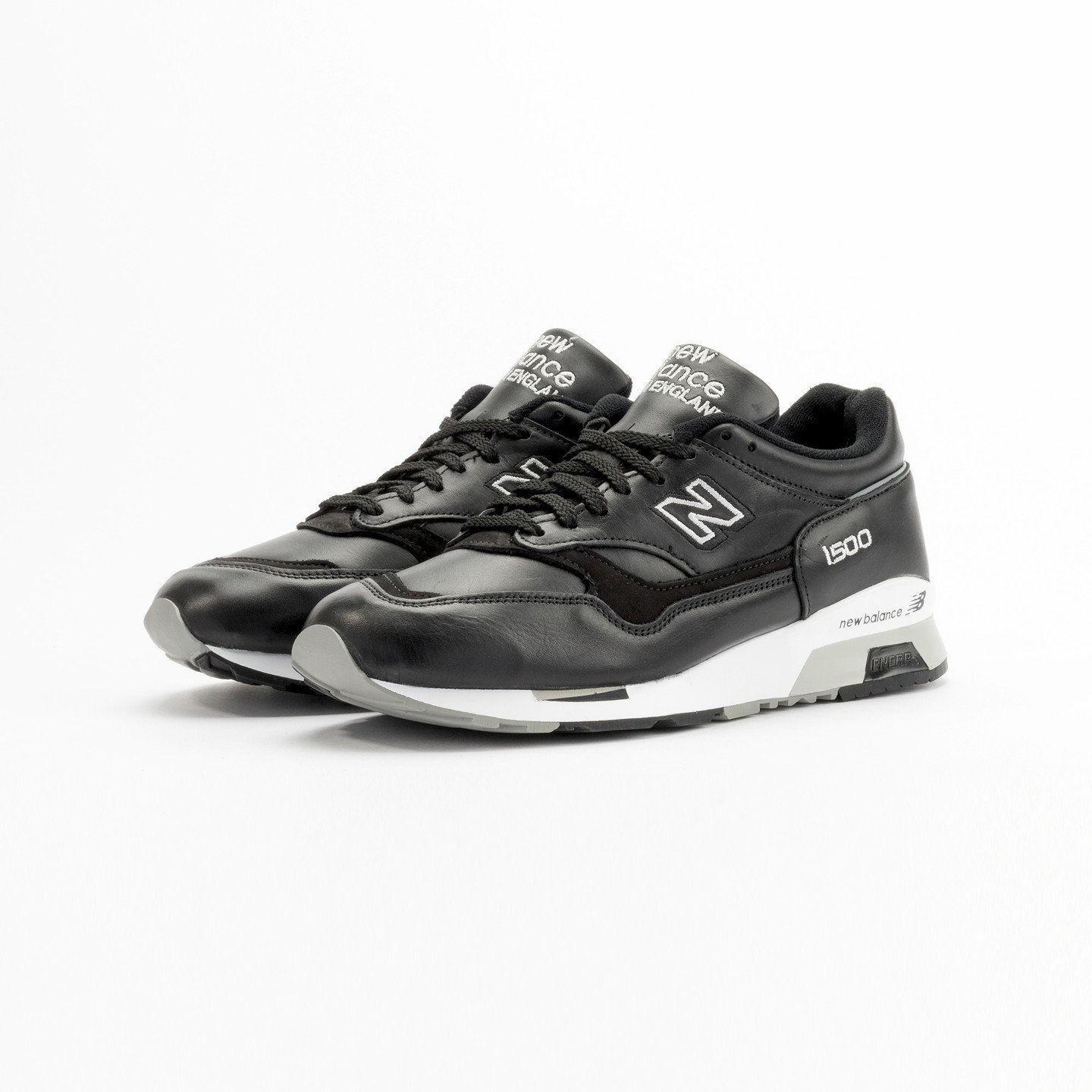 New Balance M1500 BK - Made in England Black / White Shadow M1500BK-42
