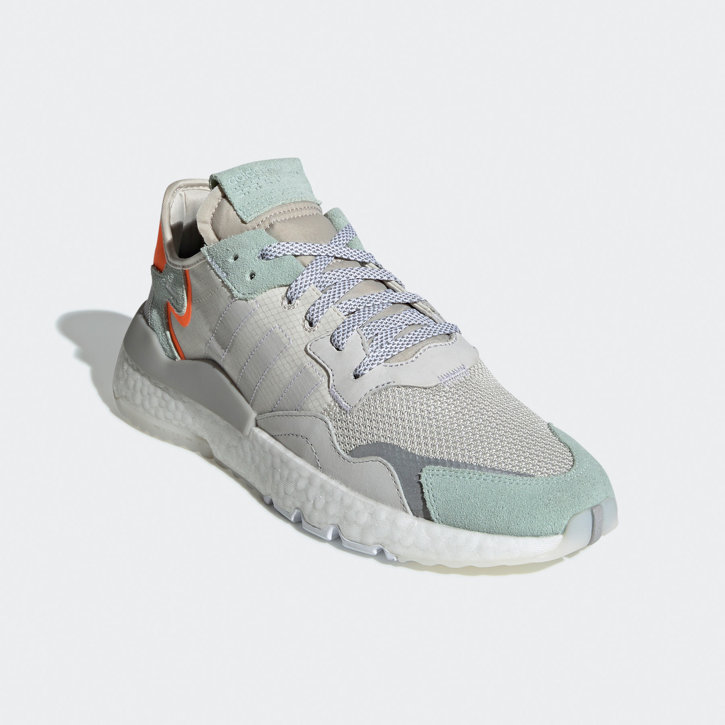 Adidas Nite Jogger Raw White / Grey / Vapour Green BD7956