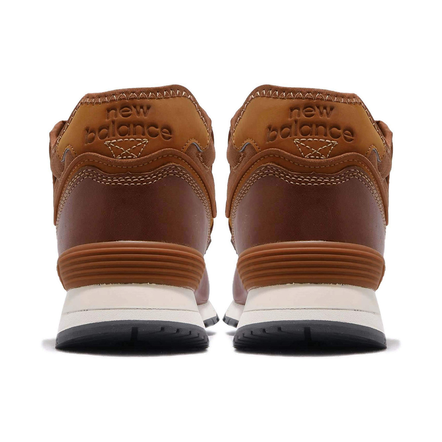 New Balance MH574 Leather Brown / Off White MH574OAD