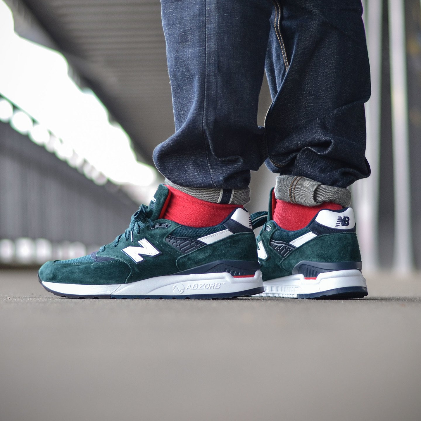 New Balance M998 Made in USA Dark Green M998CHI-45.5