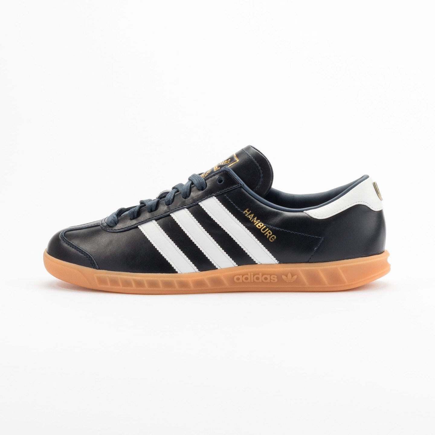 Adidas Hamburg - Made in Germany Navy / White / Gold / Gum S31602-44.66