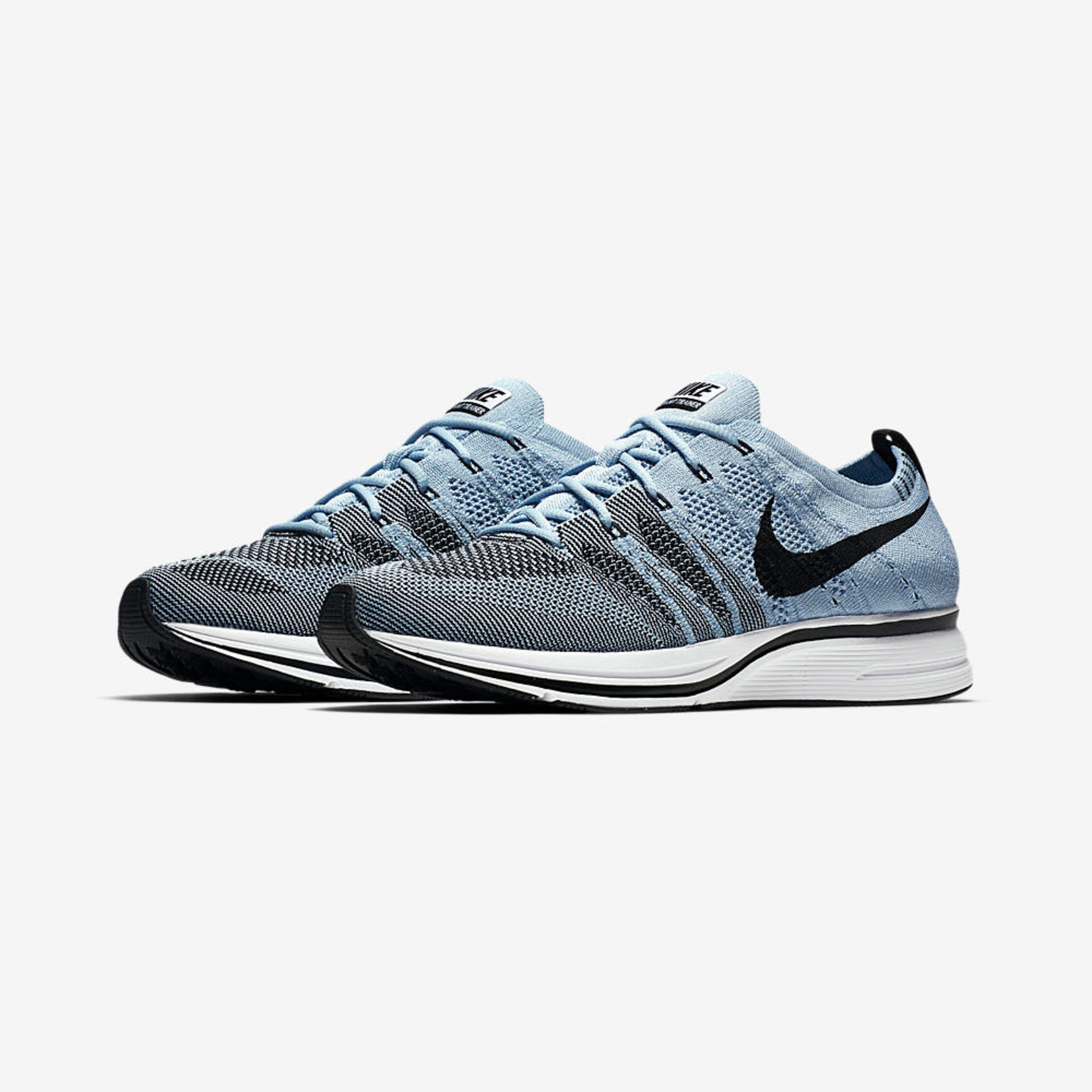 Nike Flyknit Trainer Cirrus Blue/ Black / White  AH8396-400