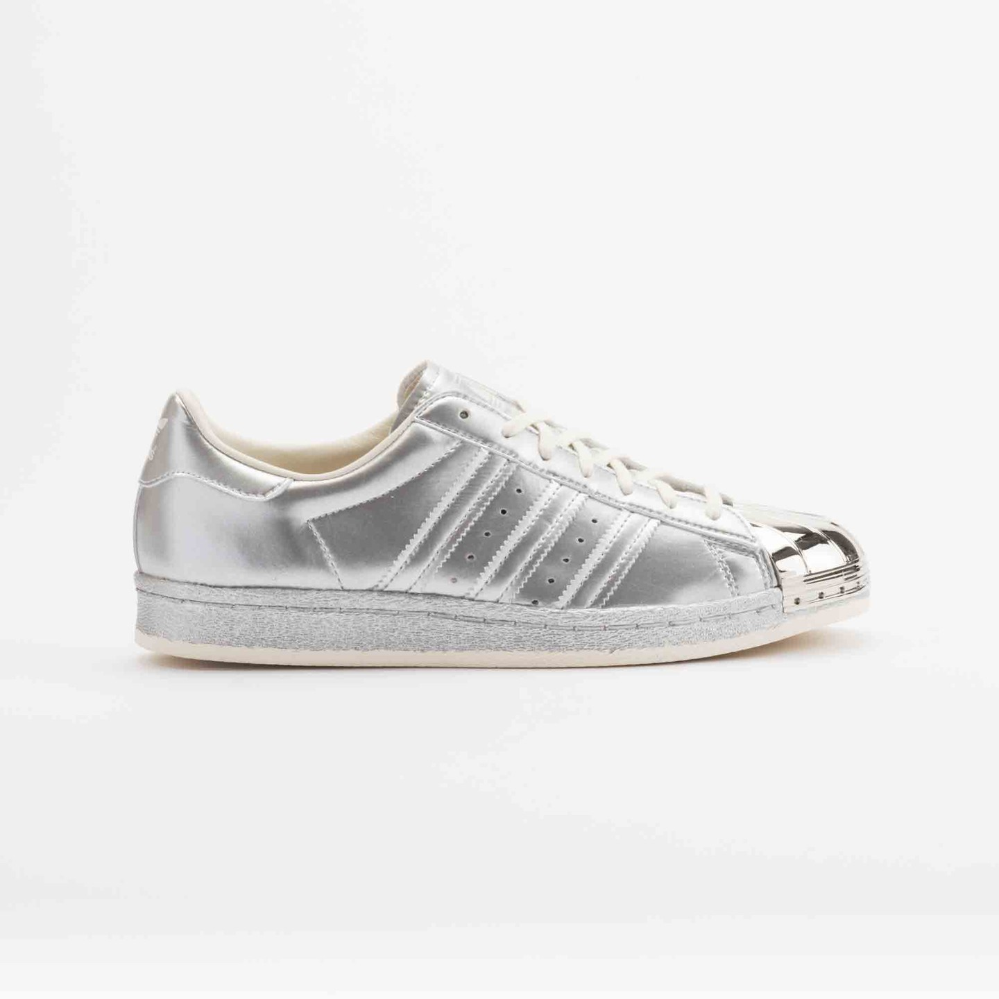 Adidas Superstar 80s Metallic Pack Silver Metallic S82741-41.33