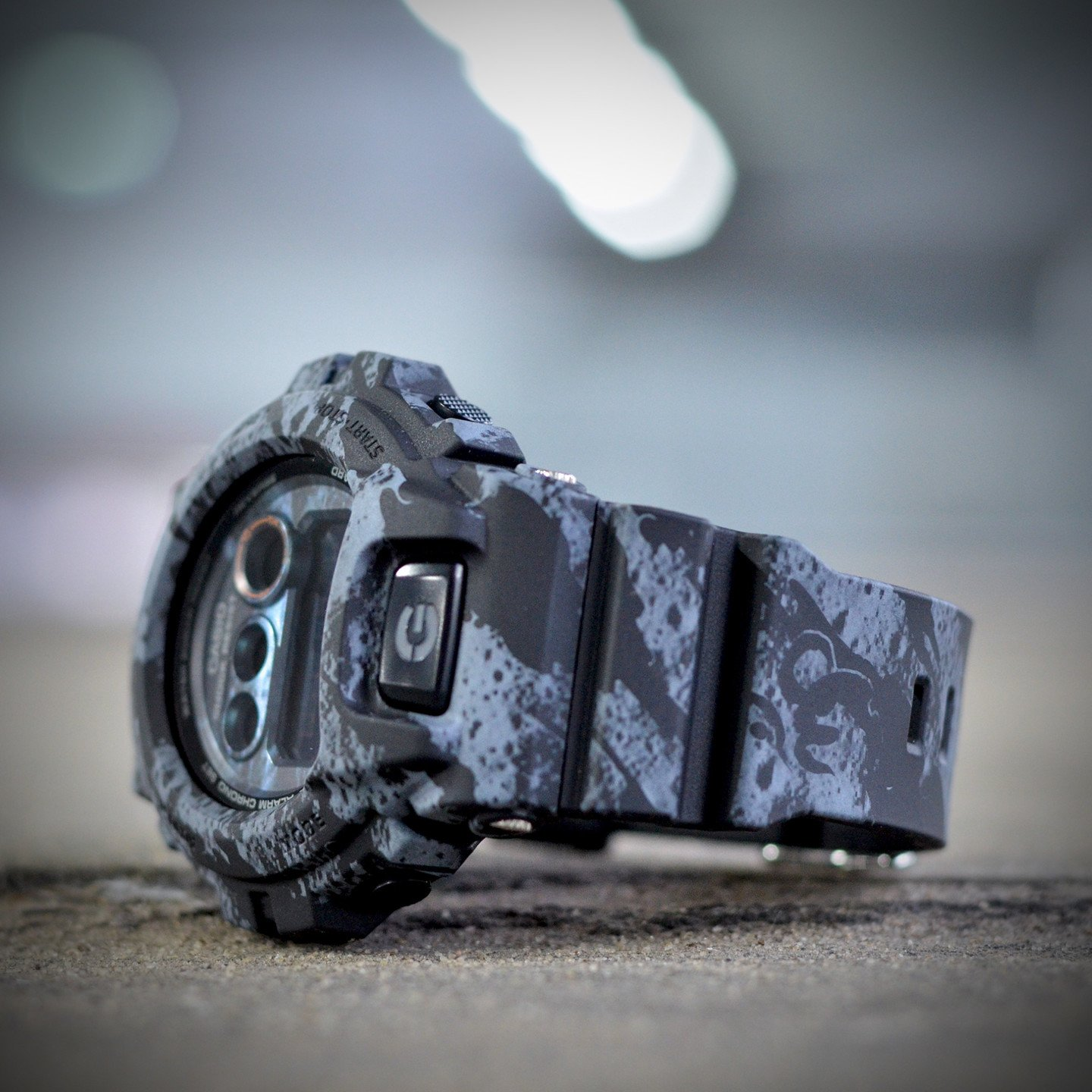 Casio G-Shock x Maharishi Stone Grey / Black GD-X6900MH-1ER-one-size