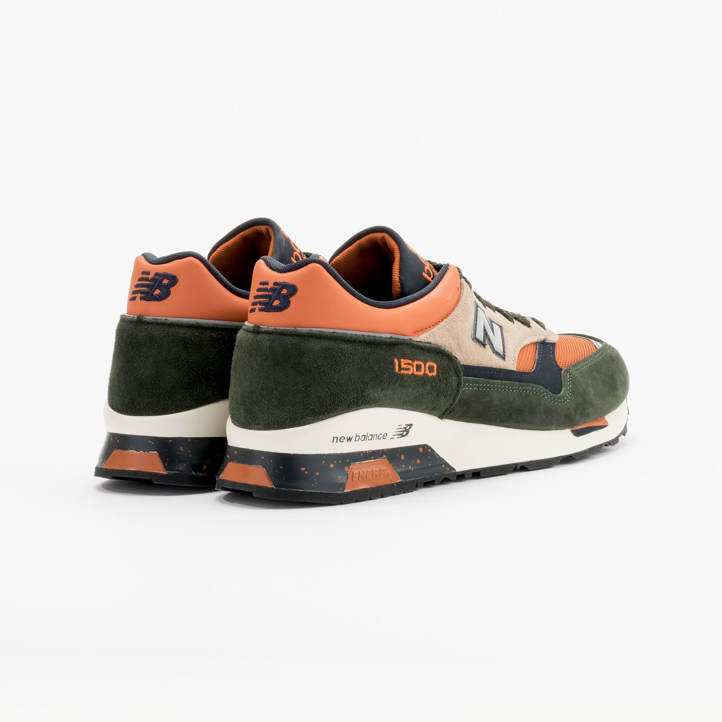 New Balance M1500 RO - Made in England Green / Orange M1500RO-44