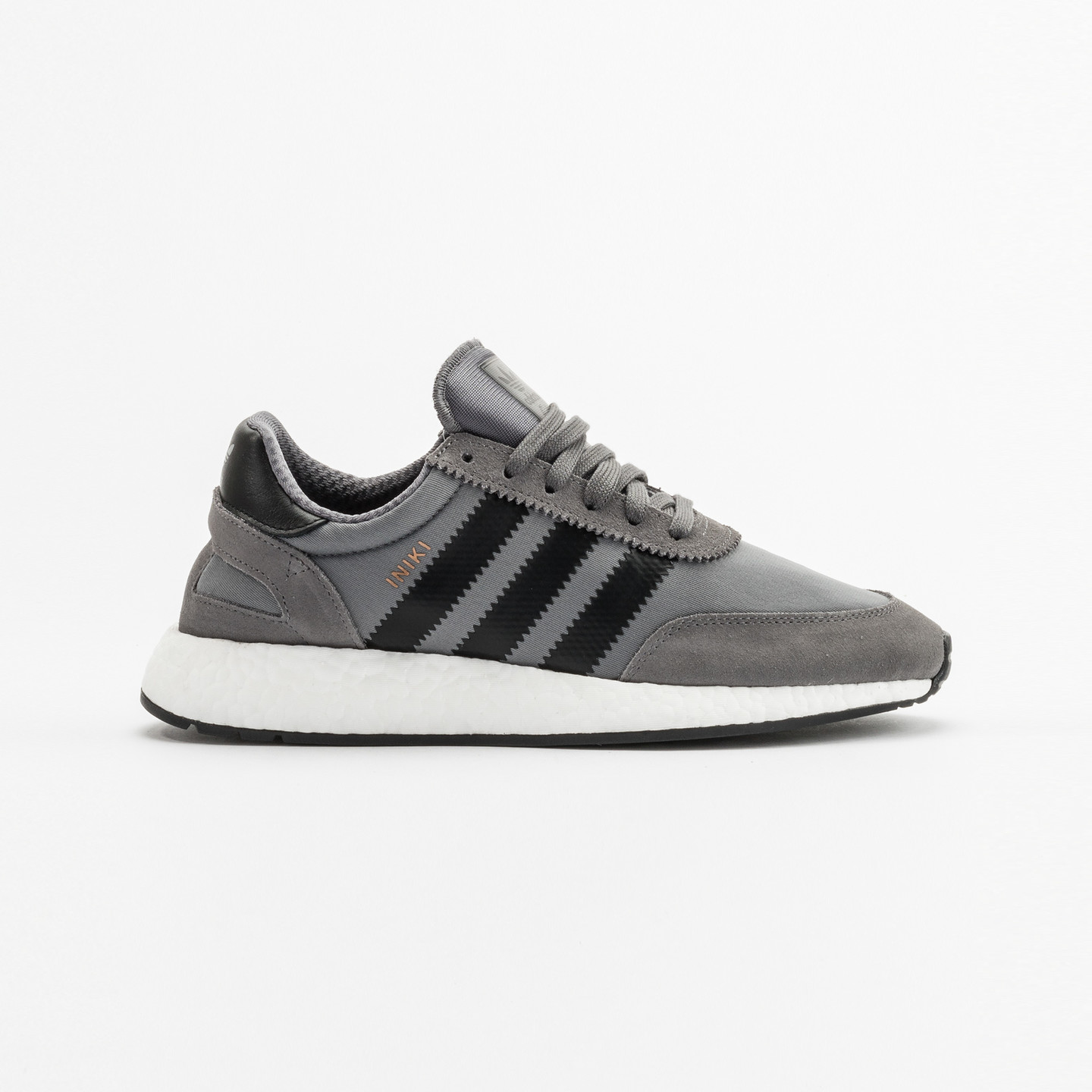 Adidas Iniki Runner Grey / Core Black / White BY9732