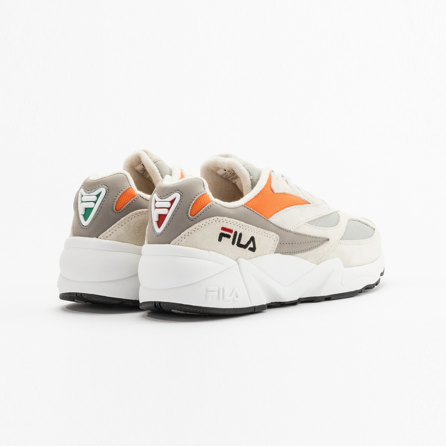 Fila V94M Runner Off White / Grey / Mandarin 1010671-12D