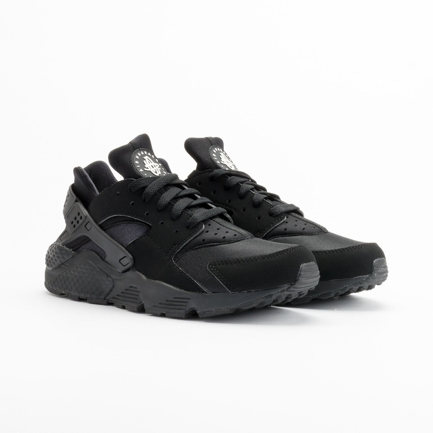 Nike Air Huarache Black/Black-White 318429-003-45.5