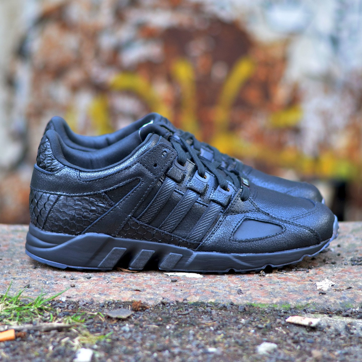 Adidas Pusha T x EQT Running Guidance ´93 Core Black AQ7433-40