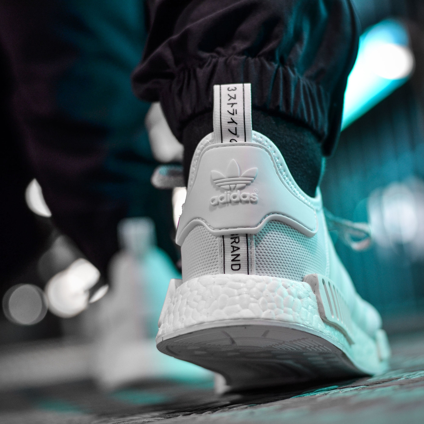 Adidas NMD R1 Runner Triple White S31506-46.66