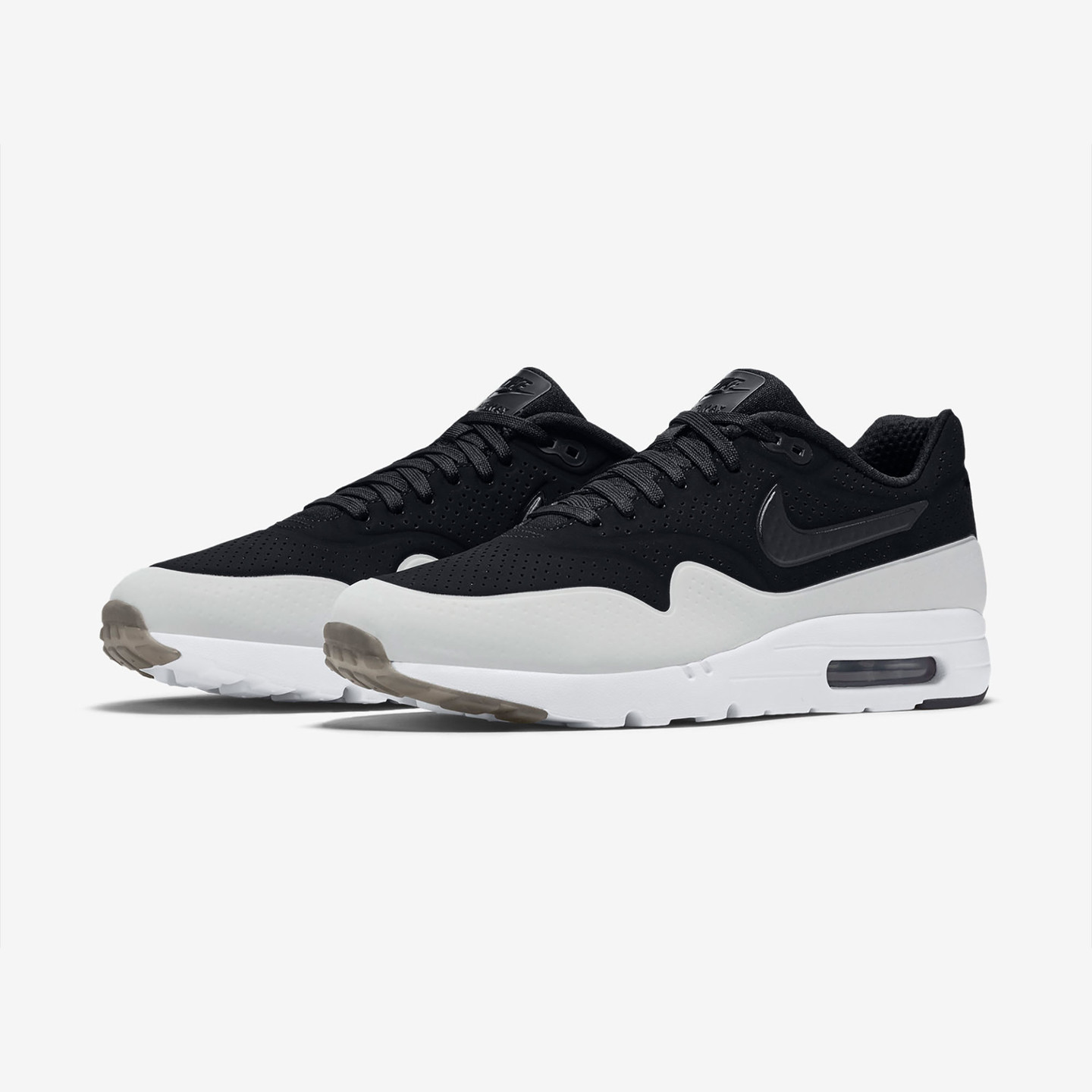 Nike Air Max 1 Ultra Moire Black / White 705297-011-44.5