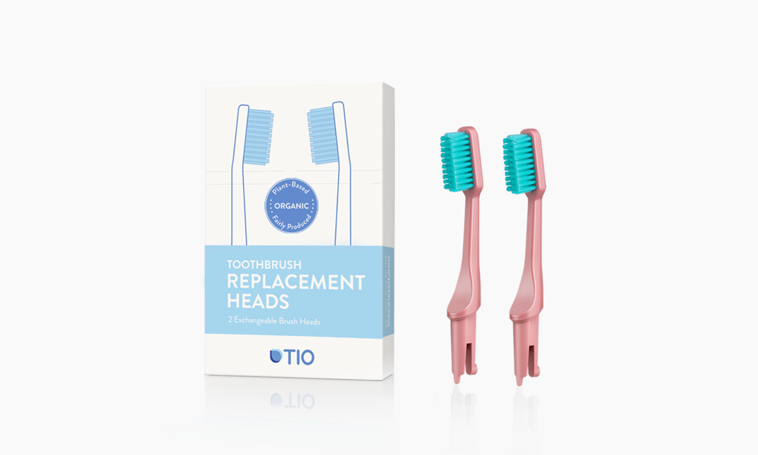 TIO Replaceable heads | TIO Replaceable heads (double pack) | Artikelnummer: 02-07E